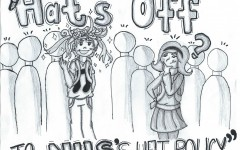 Editorial Cartoon: Hats Off to NHS' Hat Policy