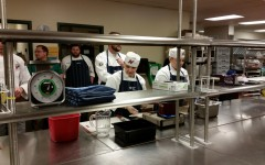 Culinary Students Cook at Lambeau