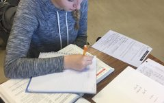 Student Life Column:  Drowning in Homework