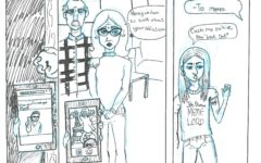 Comic Strip:  Addiction to Memes