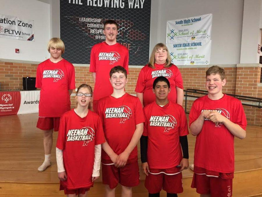 NHS Special Olympics Basketball Team Heads to Sectionals