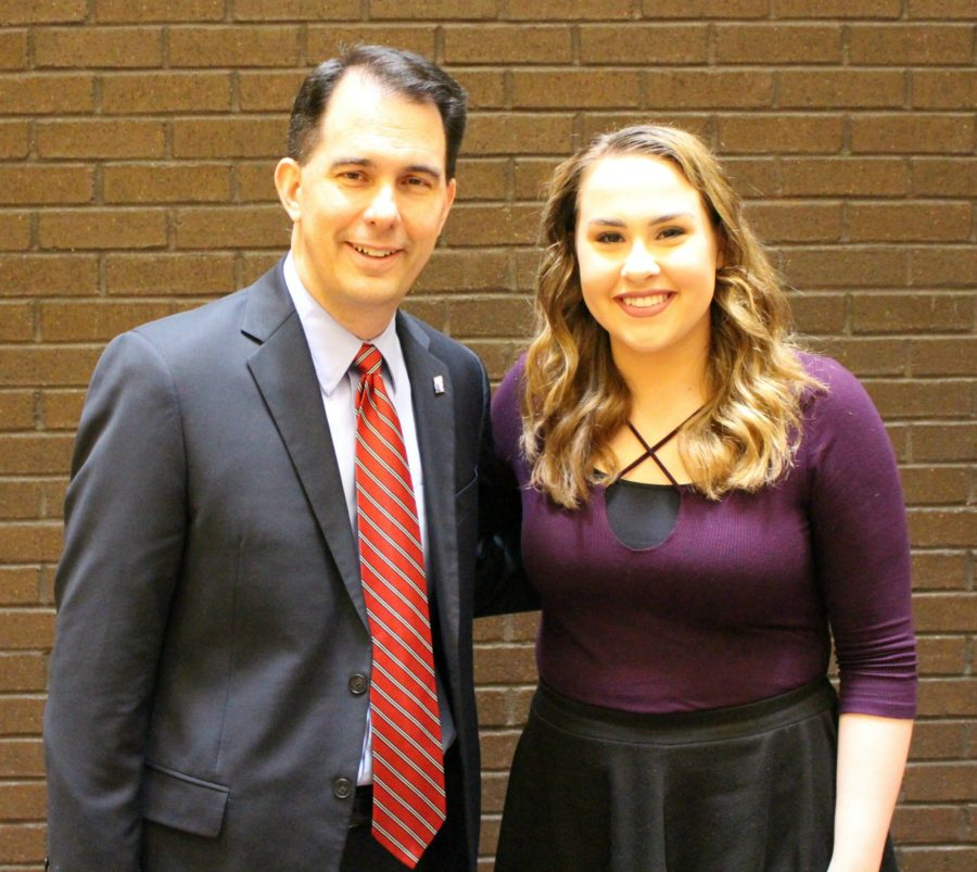 Students Express Importance of Art within NHS Community to Gov. Walker