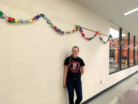 Senior Spreads Smiles and Kindness Through Halls