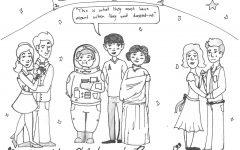 Editorial Cartoon:  Homecoming 2016