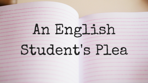 An English Student's Plea