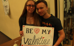 Photo Series: Students Gear Up for Valentine's Day