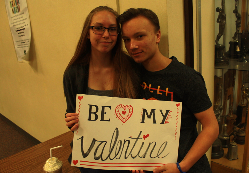 Freshman couple will be celebrating Valentine's Day together this year.