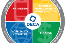 NHS Students Represent at State DECA Conference