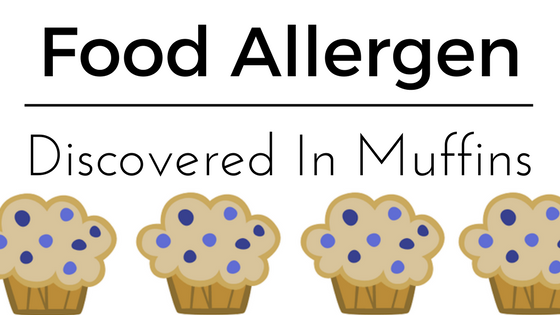A potential food allergen was discovered in Otis Spunkmeyer brand muffins.
