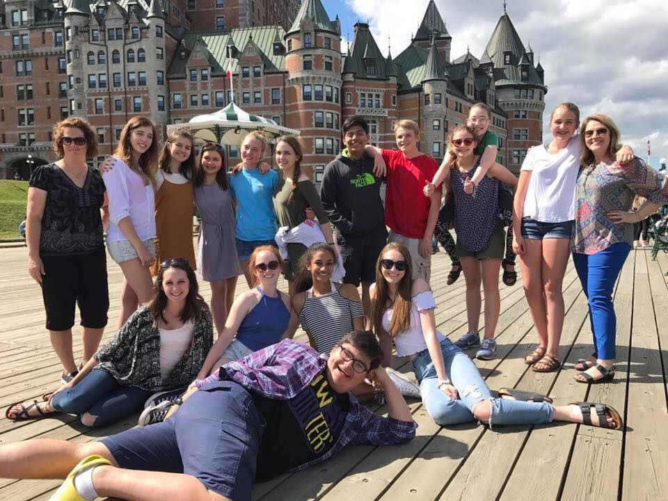 NHS French students experienced Quebecois culture in Canada.