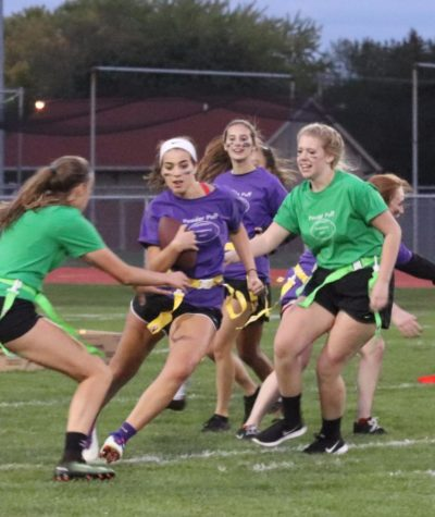 Powder Puff Football Scores Big with Fans