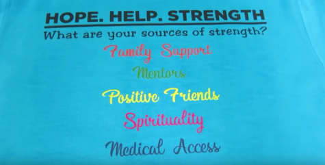 Video: Sources of Strength Inspires Students