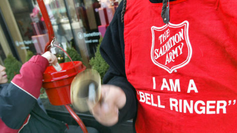 Donating is become more and more accessible to the public due to the Salvation Army