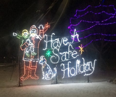 Review of Holiday Tradition:  Oshkosh Celebration of Lights