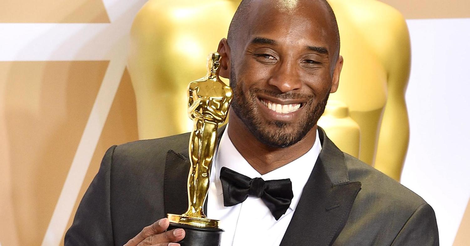 (Photo courtesy of CNBC) Kobe Brant:  Five time NBA champion, 18 time all-star, 2008 NBA league MVP, and now the recipient of an Academy Award.