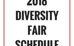 2018 Diversity Fair Schedule