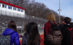 NHS Students Participate in National Walkout