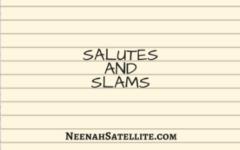 Salutes and Slams Week of Jan. 8