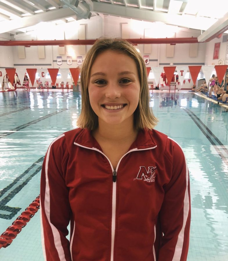 Currently+a+junior+on+the+swim+team%2C+Claire+Eisele+wants+to+continue+the+momentum+of+the+last+season.