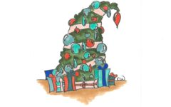 Illustration:  Holiday Stress