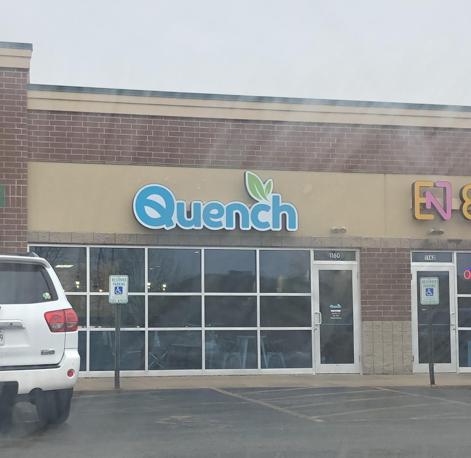 View from outside of Quench (1160 Westowne Dr., Neenah).