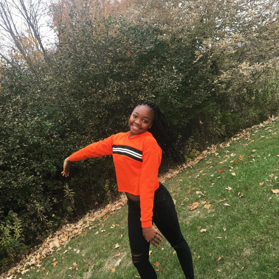 Sophomore Nicole Makope has a passion for sports and a vision for her future.