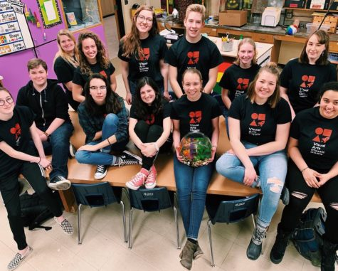 State Bound:  First-Year Visual Arts Classic Team Dominates Regional Competition