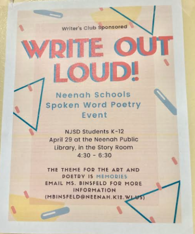 Writers Club Offers Spoken Poetry and Art Event for Students