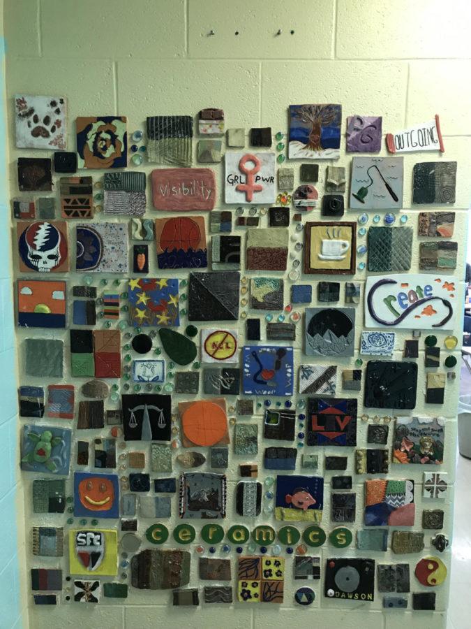 Art+project+Ceramics+1+class+did+last+year