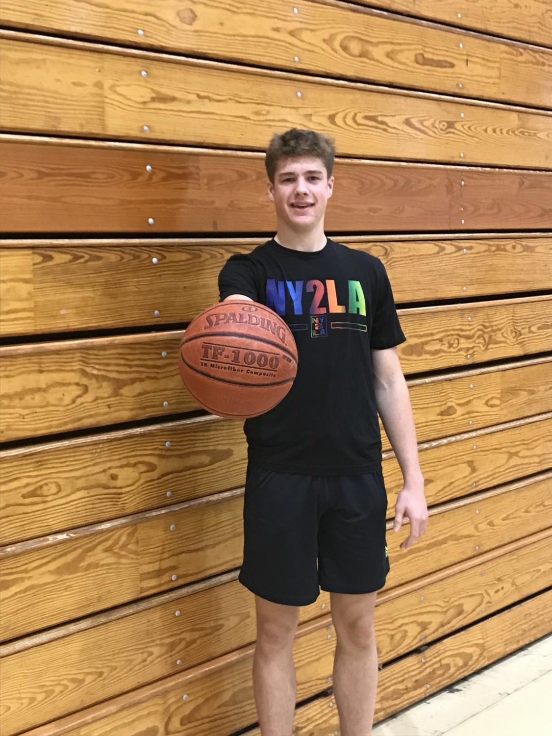 """""""Last season, we went to state but came up short. This year, it would be a dream come true if we could get back and bring home a championship this time around,"""" senior basketball captain Max Klesmit said."""