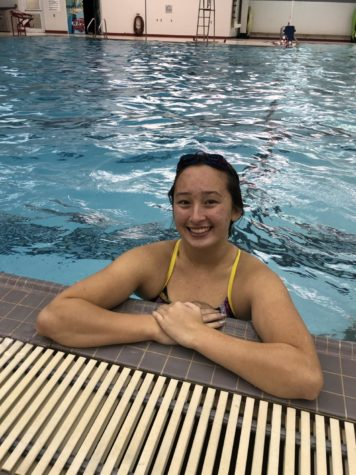 Senior Plans Swim Team Tradition She Has Never Experienced