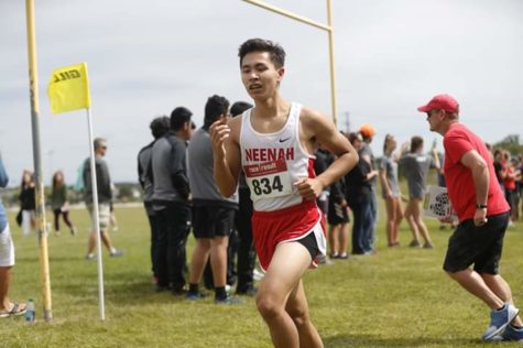 Transfer Student Finds Place in Cross Country