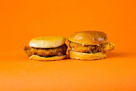Chick-Fil-A (Left) v.s. Popeyes (Right)