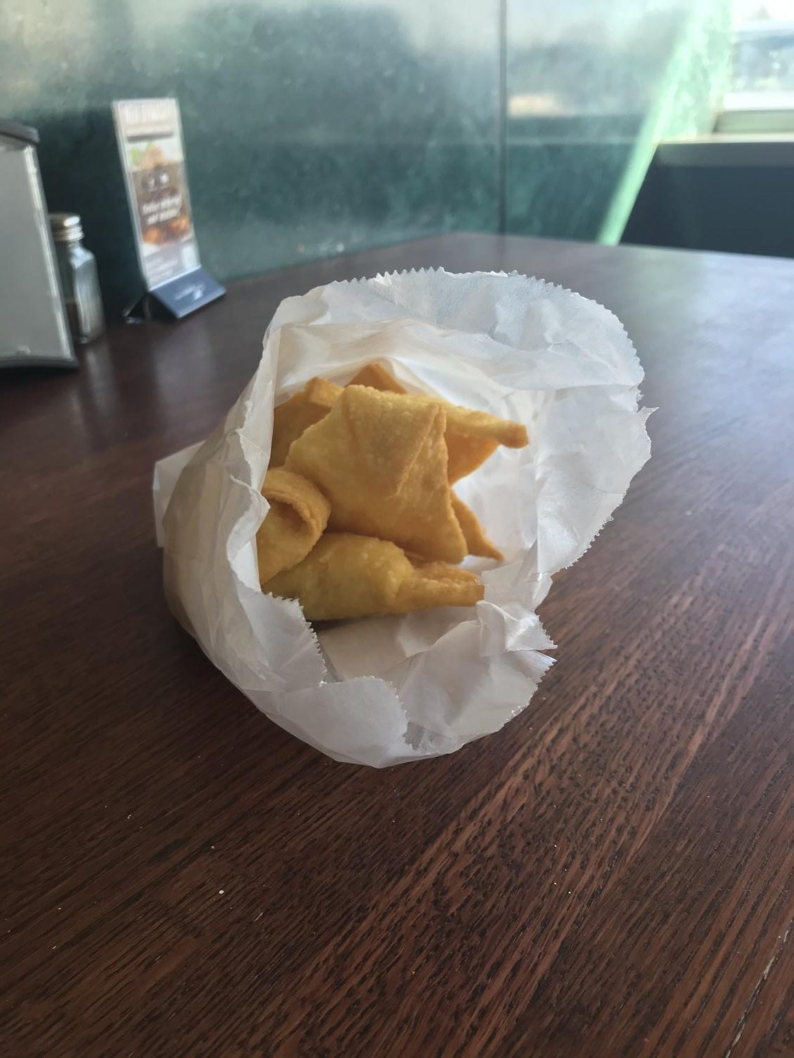 New Dynasty's Crab Rangoons