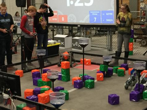 Rockets Start VEX Robotics Season