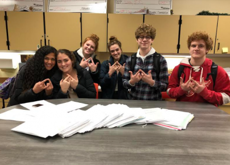DECA Raises $1,126 for Make a Wish with Letters to Santa