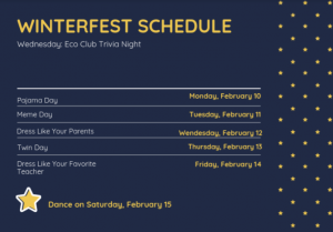 Sources of Strength Plans Activities for Week of Winterfest