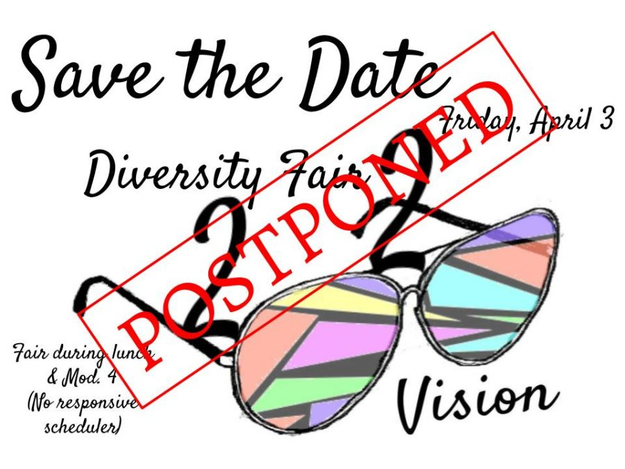 NHS Diversity Fair Postponed