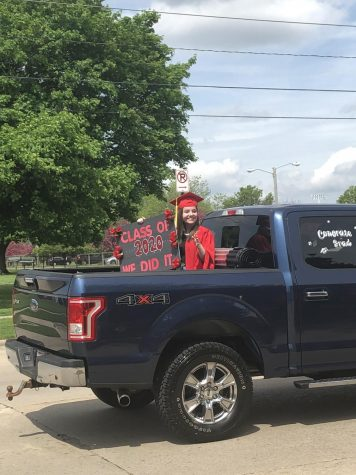 Senior Graduation Parade Delivers Sense of Celebration