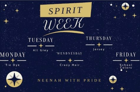Spirit Week Dress-Up Days