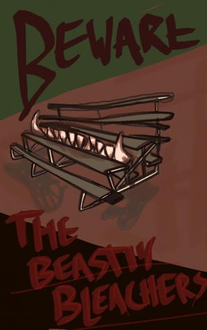 Homecoming 2021 Memory:  Beware of the Beastly Bleachers